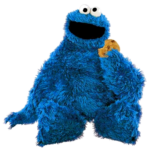 Cookie Monster Staring